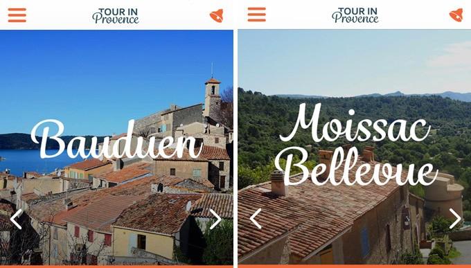 Bauduen et Moissac-Bellevue, Haut Var Verdon