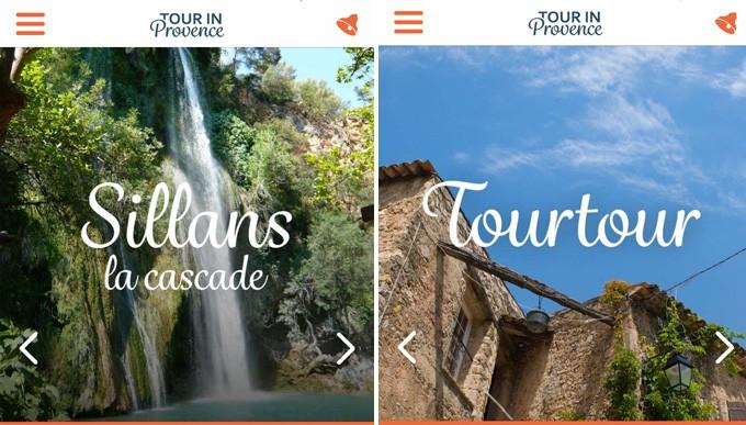 Sillans-la-cascade et Tourtour, Haut Var Verdon